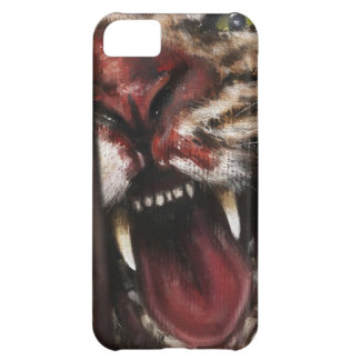 Rage in a Cage painting case vertical iPhone 5C Covers