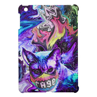 Rage Kitty iPad Mini Cover