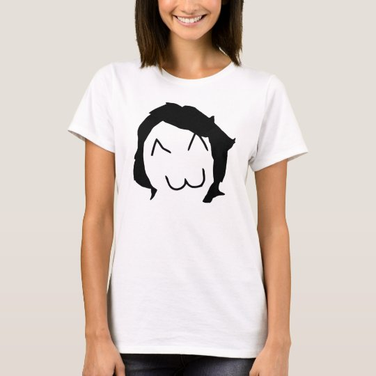 rage meme derpina face T-Shirt