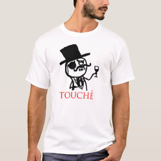 RAGE meme touche face T-Shirt