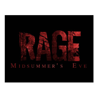 Rage - Midsummer's Eve Fan Cards Postcard