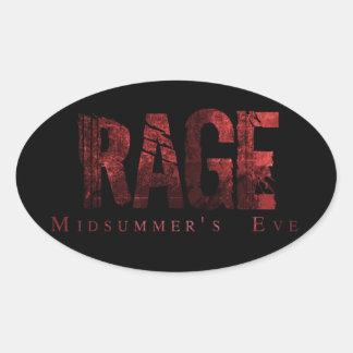 Rage Midsummer's Eve Fan Stickers