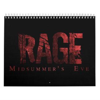 Rage - Midsummer's Eve Official Calendar 2012