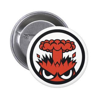Rage Pinback Button