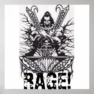 RAGE! POSTER
