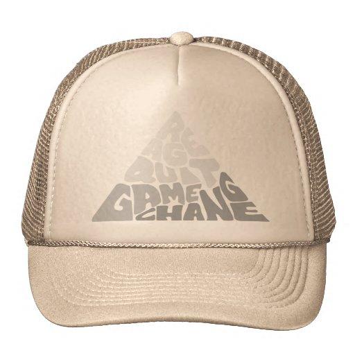 RAGE QUIT GAME CHANGE TRUCKER HAT