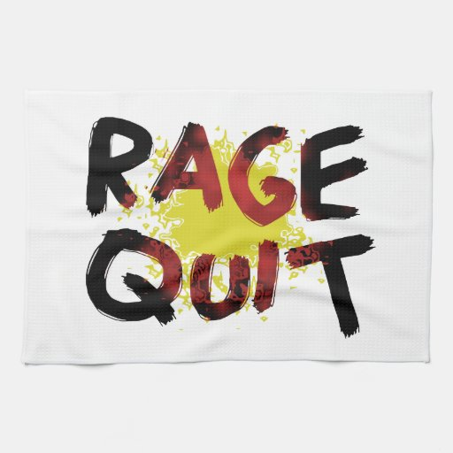 Rage Quit Kitchen Towels