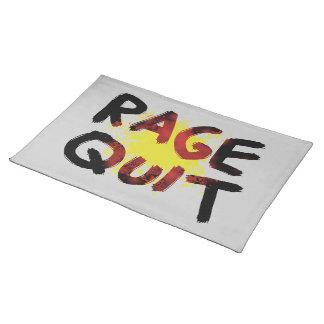 Rage Quit Cloth Placemat