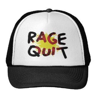 Rage Quit Trucker Hat