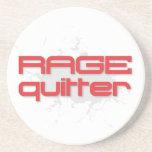 Rage Quitter Gamer Beverage Coasters