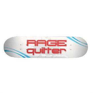 Rage Quitter Gamer Custom Skateboard