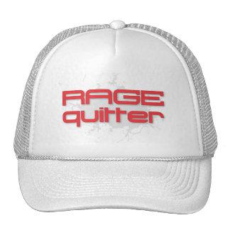Rage Quitter Gamer Trucker Hat