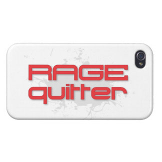 Rage Quitter Gaming iPhone 4/4S Cover