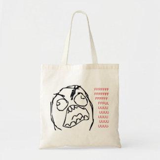 Rage Troll Tote Bags