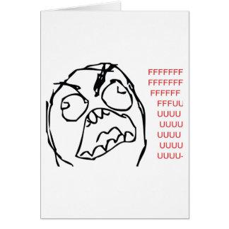 Rage Troll Card