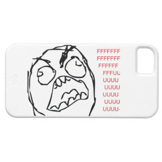 Rage Troll iPhone 5 Cover