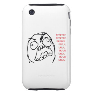 Rage Troll Tough iPhone 3 Cover