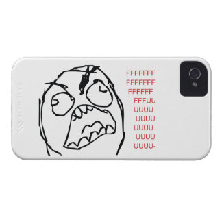 Rage Troll iPhone 4 Case-Mate Cases