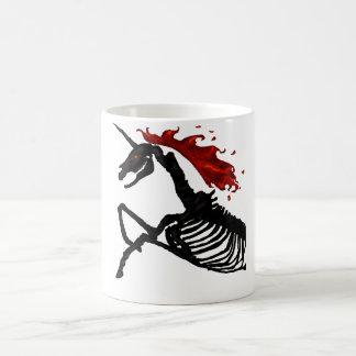 Rage - Unicorn Skeleton Coffee Mug