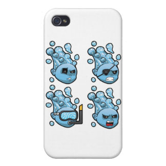 Rageface Water Elementals iPhone 4/4S Covers