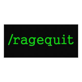 Ragequit Gamer Rack Cards