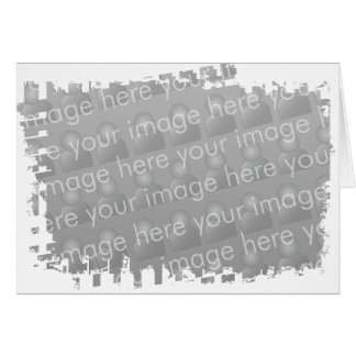 Ragged Border Design Card