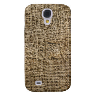 Ragged Jute Fabric Texture iPhone 3G/3GS Case Galaxy S4 Covers