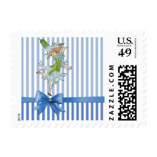 Ragged Robin Flower Child Blue Fairy Gift Stamp