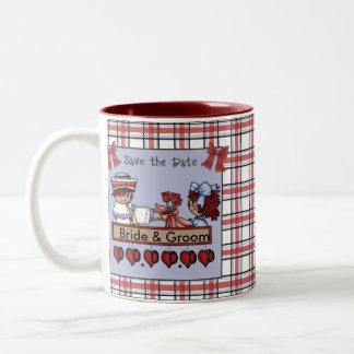 Raggedy Andy & Annie, Save the Date Mug
