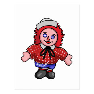 Raggedy Andy Postcard