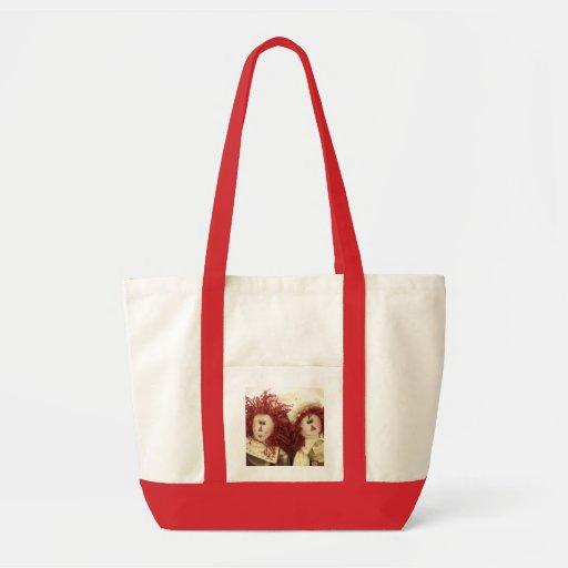 Raggedy Ann & Andy Doll Canvas Tote Bag