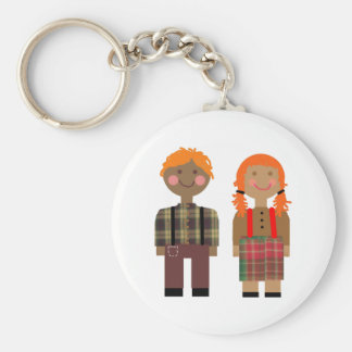 Raggedy Ann & Andy Keychain