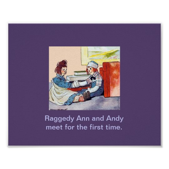 Raggedy Ann & Andy meet for the first time Poster