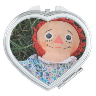 Raggedy Ann Doll Makeup Mirror