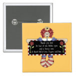 Raggedy Ann Doll Tshirts and Gifts Pinback Buttons