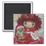 Raggedy Ann & Gingerbread Magnet