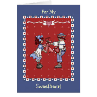 Raggedy Ann Sweethearts Valentine Greeting Cards