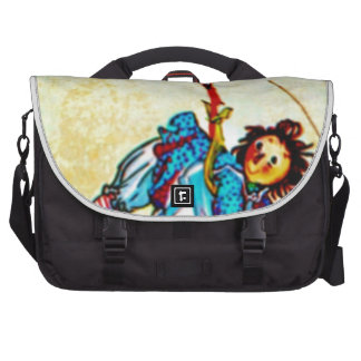 RAGGEDY ANN - THE KITE - FLYING IN THE SKY.ragdoll Laptop Computer Bag