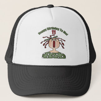 Raggedy Annie 11th Birthday Gifts Trucker Hat