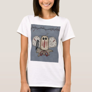 Raggedy Annie Doll With Crow T-Shirt
