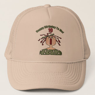 Raggedy Doll 10th Birthday Gifts Trucker Hat