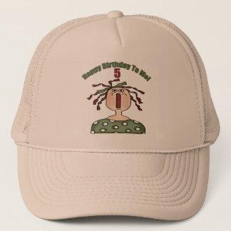 Raggedy Doll 5th Birthday Gifts Trucker Hat