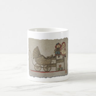 Raggedy Doll & Baby Buggy Coffee Mug
