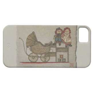 Raggedy Doll & Baby Buggy iPhone SE/5/5s Case
