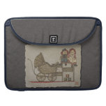 Raggedy Doll & Baby Buggy MacBook Pro Sleeves