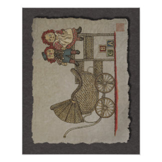 Raggedy Doll & Baby Buggy Posters