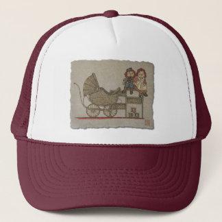 Raggedy Doll & Baby Buggy Trucker Hat
