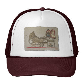 Raggedy Doll & Baby Buggy Trucker Hat