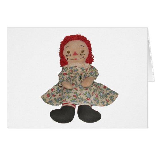 Raggedy Doll Card