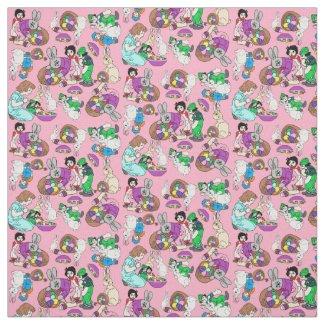 Raggedy Dollies Stories Custom Fabric